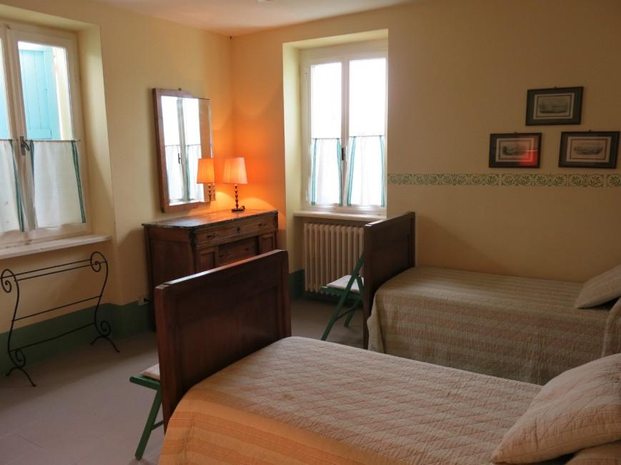 La camera doppia al primo piano.