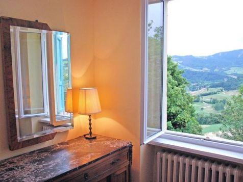 La finestra sulla valle al primo piano